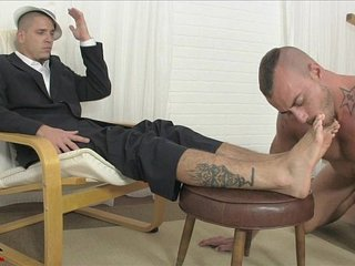 Gangster Foot Punishment