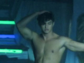 Handsome brazilizn stripper
