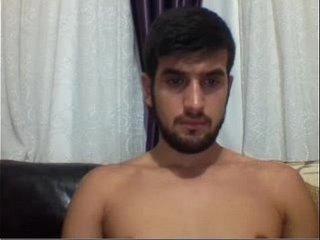 Handsome Turkish Wanks His Big Cock and Ass - menoncum.com