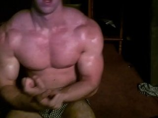 Flexing My Sexy Muscles & Rubbing Moisturizer On Body