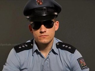 YOUNG COP SPITS AND BURP ON YOU - 008