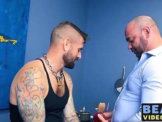 Jon Shield and Tyler Reed have a hairy fuck session