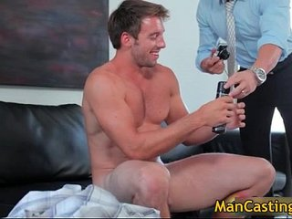 Good looking gay dude sucks stiff rod gay porn