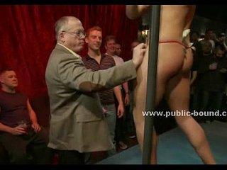 Gay streaptease club rough orgy