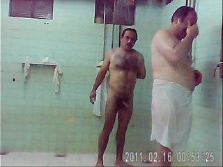 Sauna spy - Mature sex video - Tube8.com