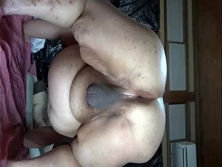 Obscene eggs-spawning show video of chubby Japanese Shino 2
