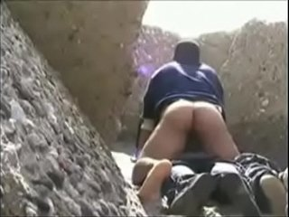 Sex in a cave by the Beach
