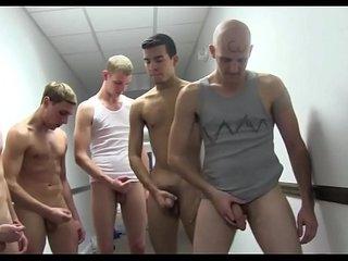 Homosexual body massage