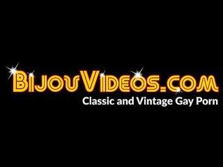 Vintage gay studs fucking bareback until hot cum erupts